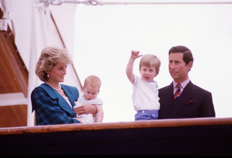 Prinzessin Diana, Prinz Harry, Prinz William, Prinz Charles