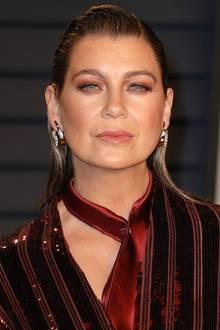 """14 Jahre später gehört Ellen Pompeo nicht nur immer noch zu der Main-Cast von """"Grey's Anatomy"""" sondern auch zu Hollywoods Elite. Auf dem roten Teppich weiß sie stets, wie sie alle Blicke auf sich zieht."""