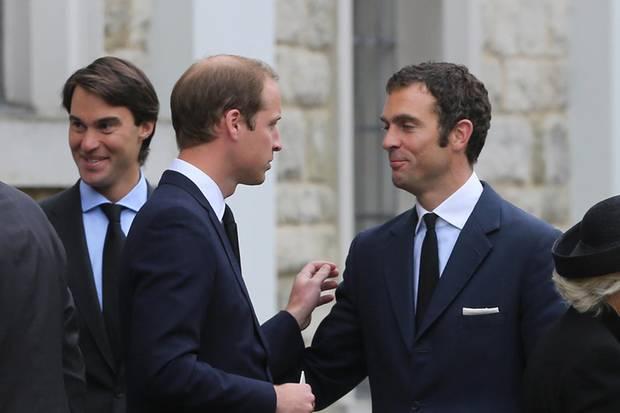 Hugh van Cutsem, Prinz William, William van Cutsem
