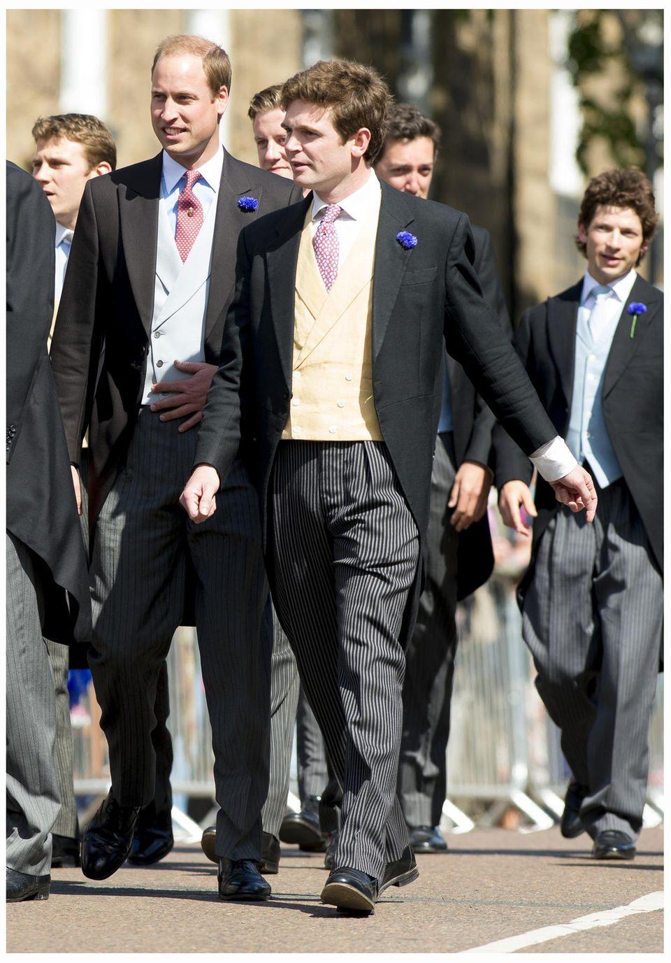 Prinz William, James Meade
