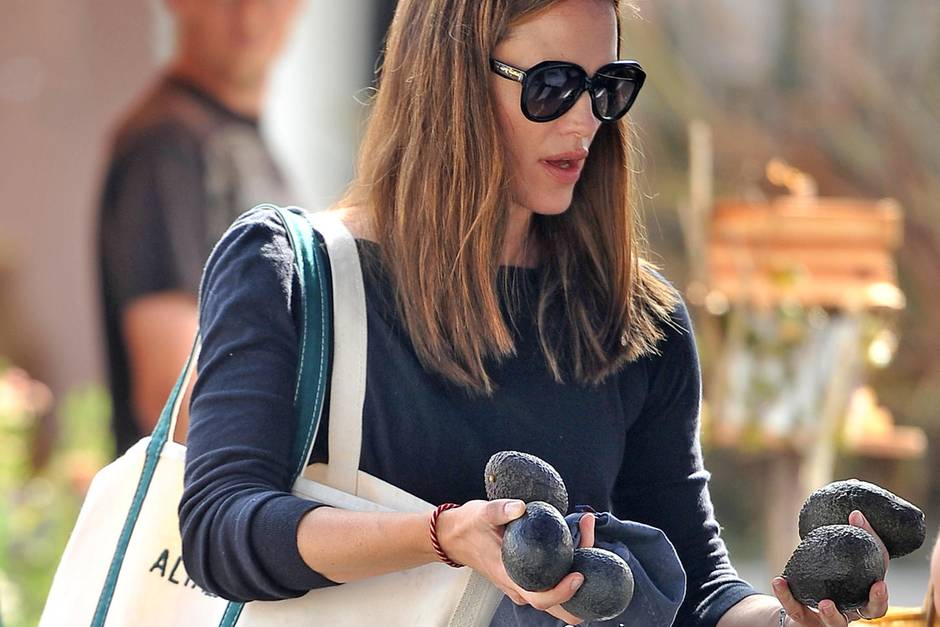Jennifer Garner kauft Avocados