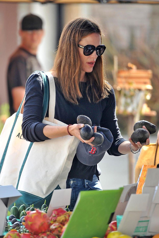 Jennifer Garner kauft Avocados