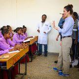 Im FlüchtlingslagerHitsat besucht Mary eine Schule.