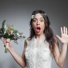 Oh Schreck, mein Brautkleid ist weg!