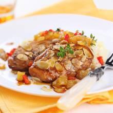 Tafelspitz mit Couscous und Aprikosen