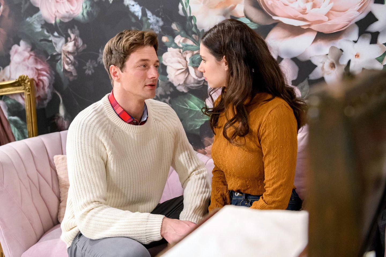 """""""Sturm der Liebe"""": Henry (Patrick Dollmann) und Denise (Helen Barke)"""