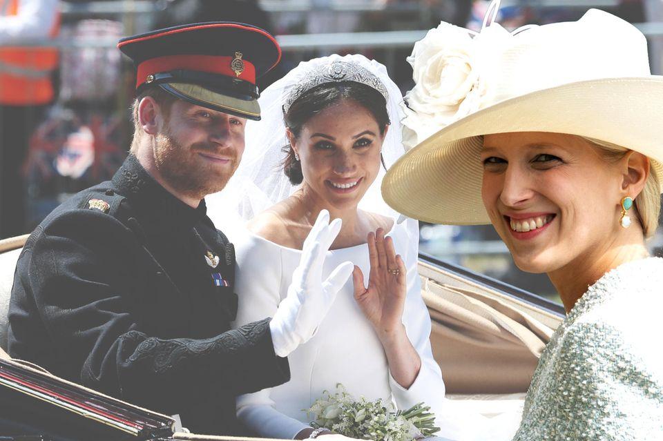Lady Gabriella Windsor wird ihre Hochzeit sehr privat feiern. Die Trauung von Prinz Harry und Meghan hingegen war ein welteites Großereignis.