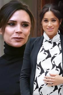 Victoria Beckham und Herzogin Meghan