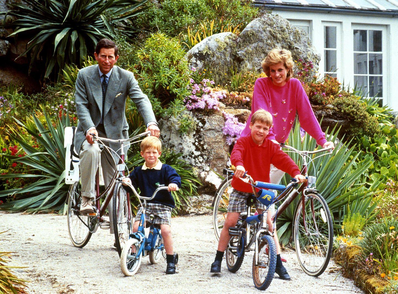 Prinz Charles, Prinzessin Diana, Prinz William, Prinz Harry