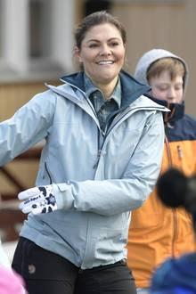 Prinzessin Victoria macht auch sportlich eine gute Figur