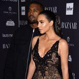 Happy End: In 2014 wird Kim zu einer Kardashian-West. Mit Rapper Kanye ist sie seither glücklich und hat eine süße Familie mit drei Kindern gegründet.