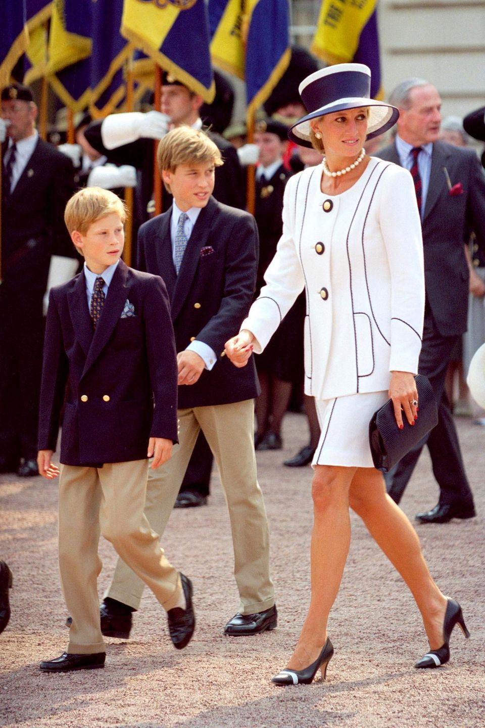 Prinz William, Prinz Harry, Prinzessin Diana