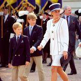 Prinz William, Prinz Harry, Prinzessin Diana