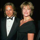 Anscheinend hat Melanie Don Johnson nie vergessen. Nur kurze Zeit nach ihrer Trennung von Steven heiratet sie den Hollywood-Beau ein zweites Mal. Aberalte Liebe rostet anscheinend doch. Es kommt in 1996 zur erneuten Scheidung.