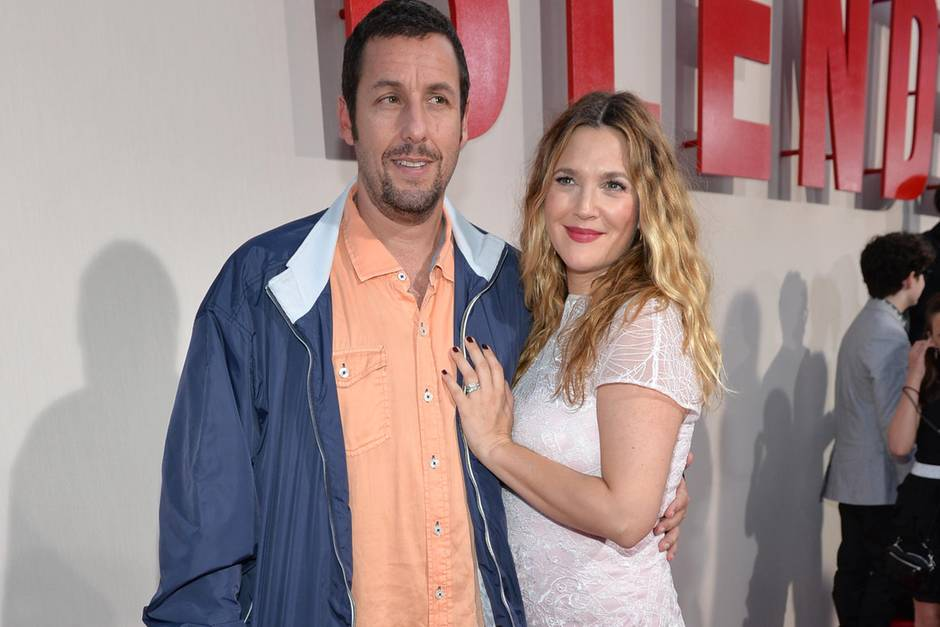 Adam Sandler + Drew Barrymore
