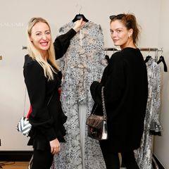 Das perfekte Kleid für die Award-Verleihung? Model Vanessa Fuchs ist bei Designerin Lana Mueller fündig geworden.