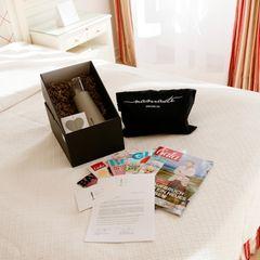 Überraschung auf dem Zimmer: Die Gäste der SPA AWARDS werden herzlich empfangen.