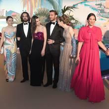 Die monegassische Königsfamilie beim Rosenball 2019