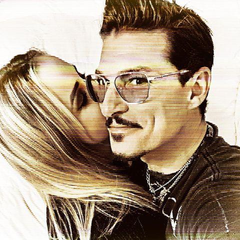 Chris Töpperwien mit seiner Freundin Delia