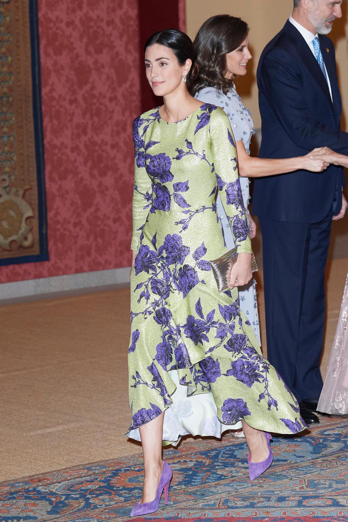 Alessandra de Osma Ende Februar 2019 bei einem Empfang des peruanischen Präsidenten für das spanische Königspaar.