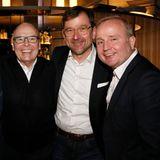 Gruner + Jahr Spa Awards: Thomas Schnitzler (Nobilis Group), Stephan Seidel (Clarins), Steffen Seifarth (Mäurer & Wirtz) und Markus Spieker (Estée Lauder).