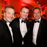 Michael Betzelt (E.A. Cosmetics), Jens Ciliax (Angelini Beauty GmbH) und Markus Grefer (PUIG Deutschland)