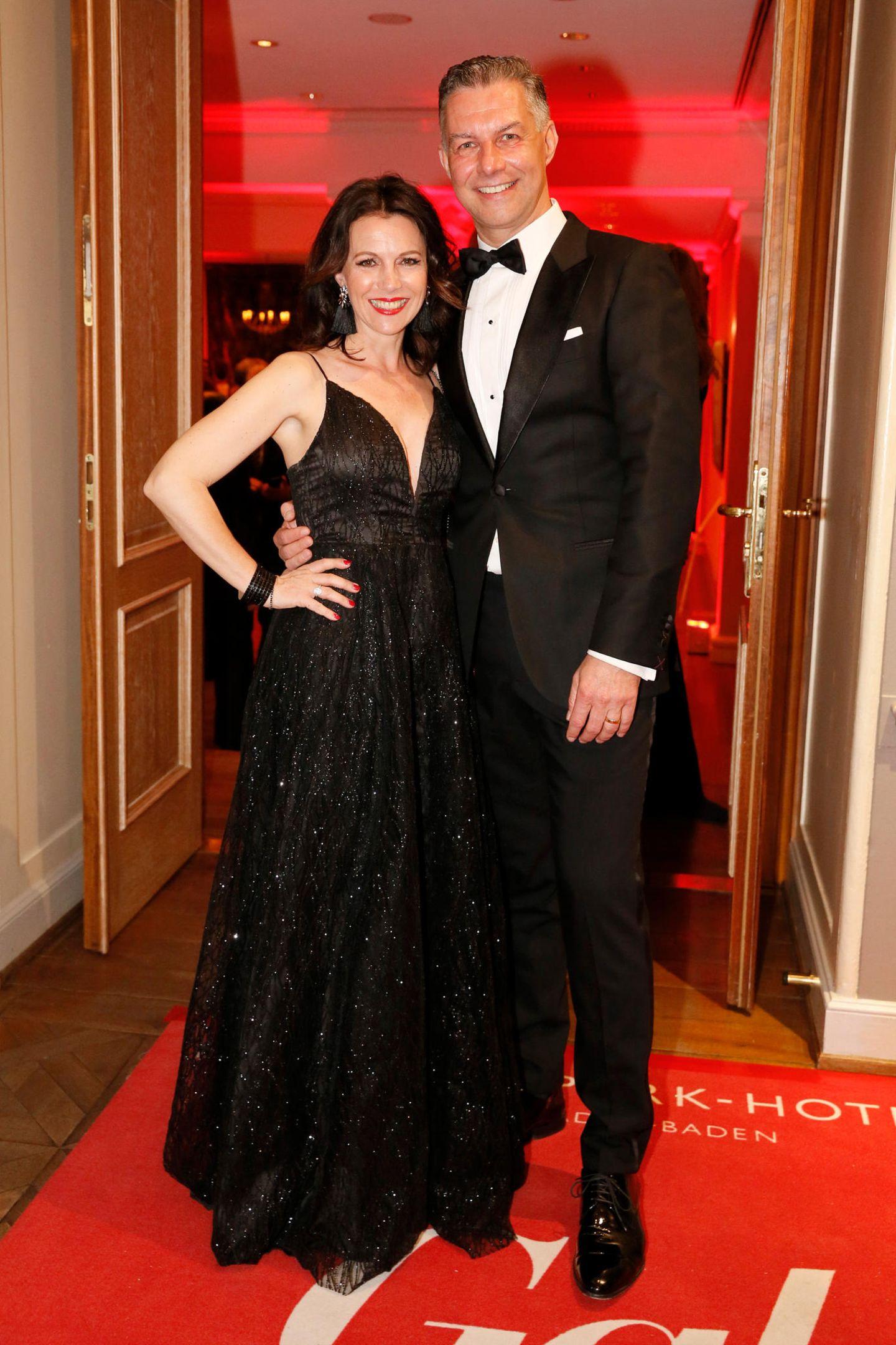 Michael Schummert (Dr. Babor) und Carola Schummert