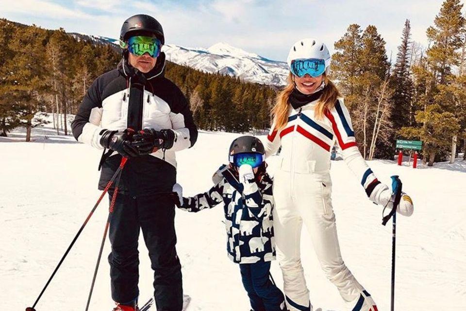 Robbie Williams, Teddy und Ayda Field