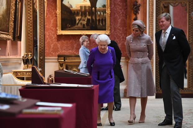 Queen Elizabeth, Könin Máxima, König Willem-Alexander