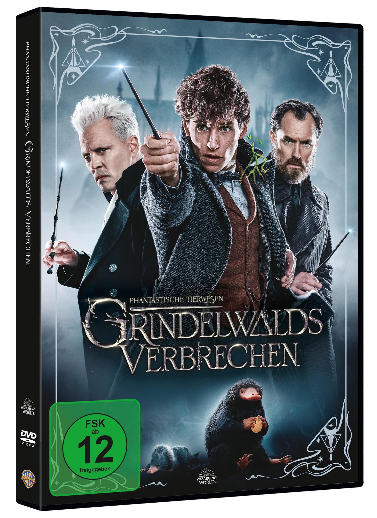 """DVD- und Blu-ray-Release von """"Phantastische Tierwesen - Grindelwalds Verbrechen"""" ist am 4.4.2019"""