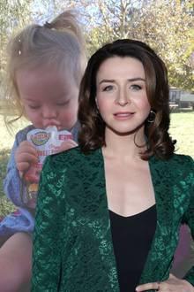 SchauspielerinCaterina Scorsone liebt ihre Tochter über alles – ob mit oder ohne Down-Syndrom.