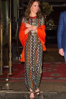 Herzogin Catherine hat eine sehr schlanke Figur. Damit sie nicht schlaksig wirkt, betont sie stets ihre Taille, wodurch der Look an Stabilität gewinnt.