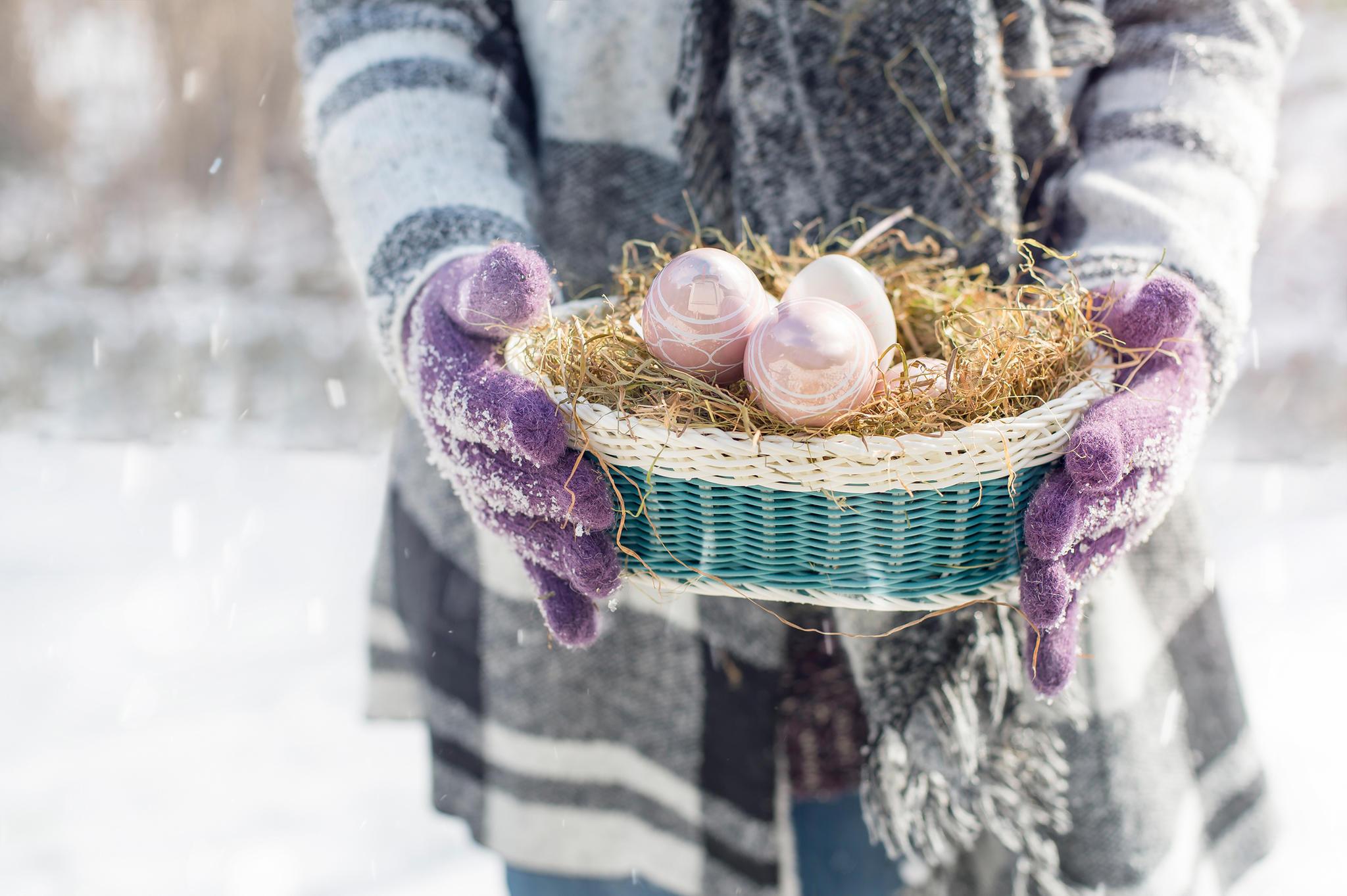 Zu Ostern soll es noch einmal kalt werden
