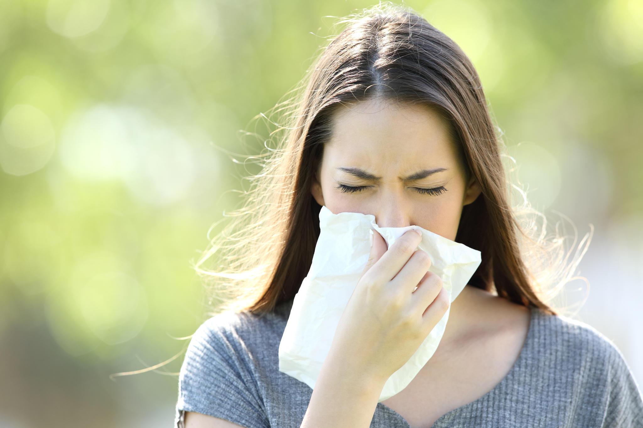 Ein Erkältung kann man auch im Sommer bekommen.