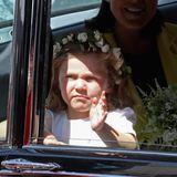 Florence van Cutsem  Die kleine Florence hat eine besondere Bindung zu Prinz Harry: Sie ist die Tochter von Harrys guten Freunden Alice und Nicholas van Cutsem - und sogar sein Patenkind. Natürlich wird sie auch oft im Frogmore Cottage vorbeikommen, um mit dem Baby ihres Patenonkels zu spielen.
