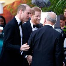Prinz Charles, Prinz William + Prinz Harry
