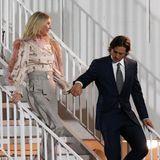 Gwyneth Paltrow und ihr Mann Brad Falchuk haben sich bei der Party der GLAAD Awards einen schönen Pärchenabend gemacht, passend stylisch gekleidet versteht sich.