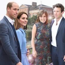Prinz William, Herzogin Catherine, Prinzessin Eugenie, Jack Brooskbank