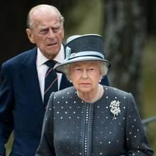 Prinz Philip, Queen Elizabeth