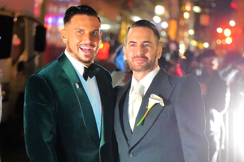 Charly Defrancesco und Marc Jacobs.
