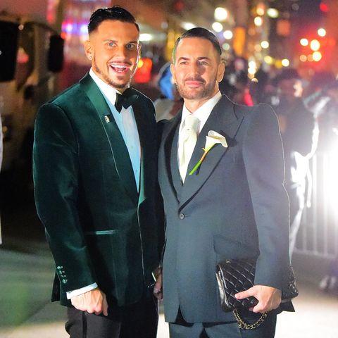 Charly Defrancesco und Marc Jacobs.