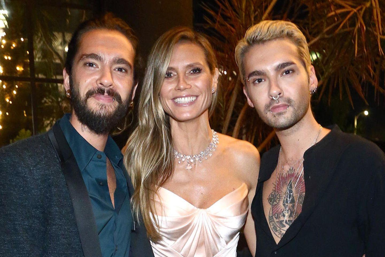 Tom und Bill Kaulitz, Heidi Klum
