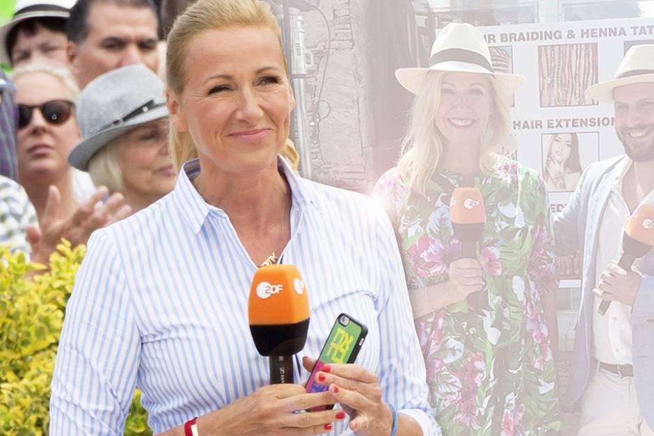 Andrea Den KiewelNeuer Look Für Fernsehgarten 6fgby7