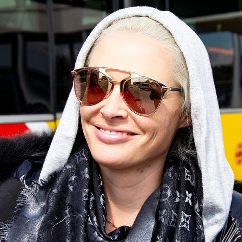 Daniela Katzenbergerhat sich von ihren langen Haaren verabschiedet