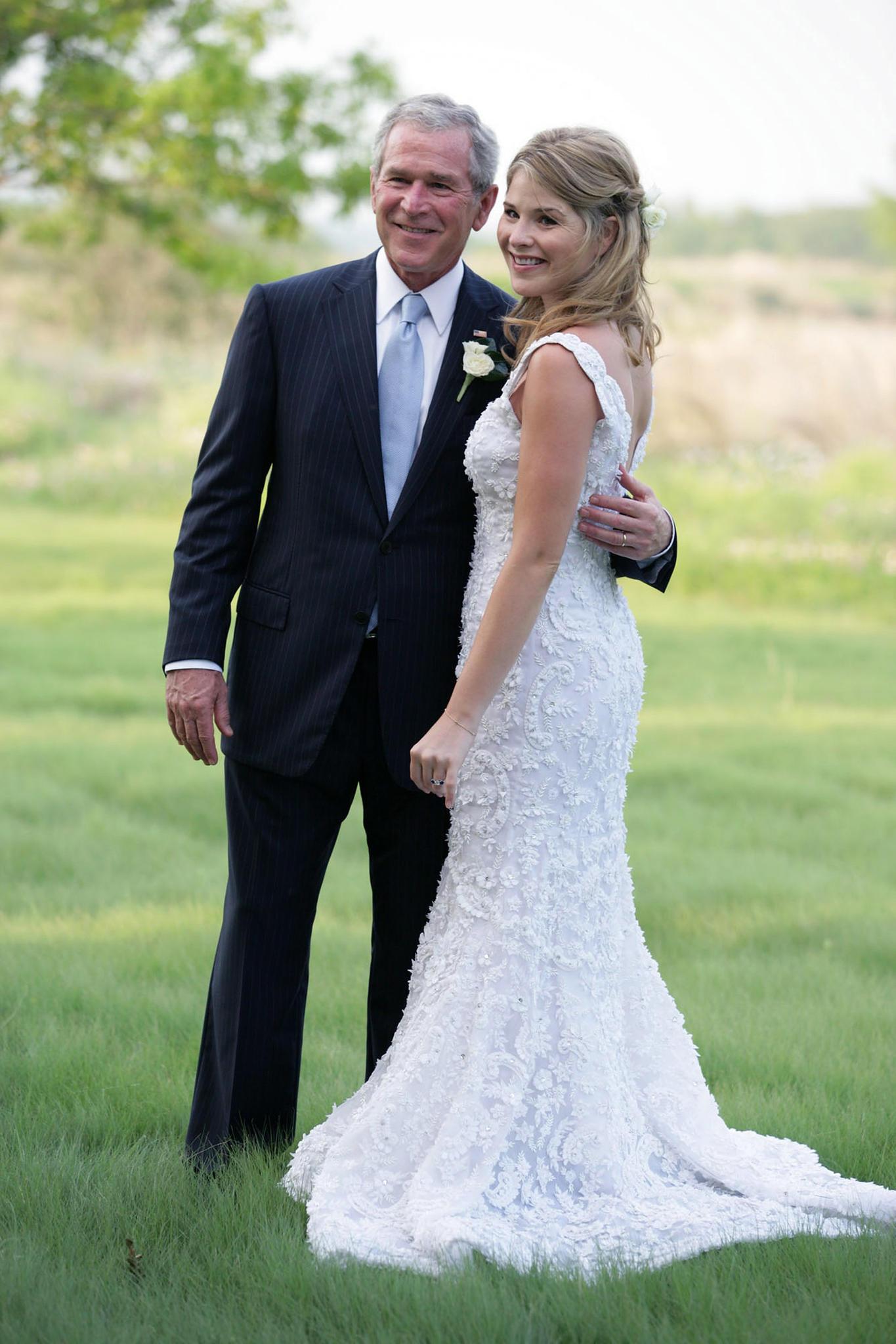 Jenna Bush Hager und George W. Bush