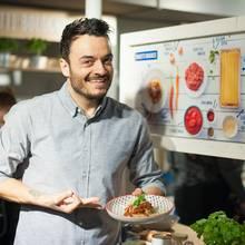 Giovanni Zarrella mit seinem Lieblingsgericht Spaghetti Bolognese