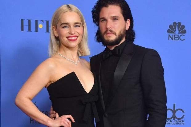 Kit Harington, Emilia Clarke, Game Of Thrones