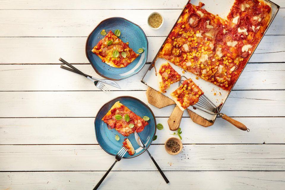 Eine für alle: die Pizza al Gusto