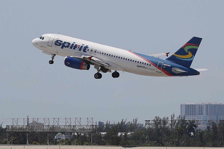 """Eine Passagierin mischte einen Flug von """"Spirit Airlines"""" ordentlich auf."""