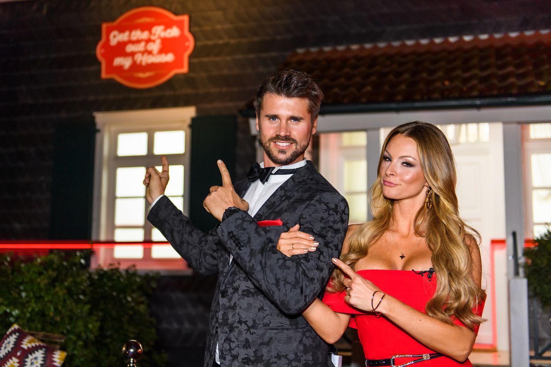 """Auch beruflich ein Dreamteam:Thore Schölermannund seine Verlobte Jana Kilka moderieren """"Get the F*ck out of my House"""""""